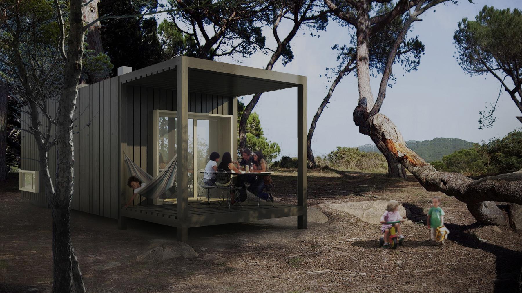 ... Cases prefabricades de fusta, sostenibles, transportables i modulars